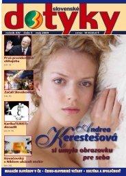 Slovenské dotyky 05 (PDF - 4,4 MB) - Slováci vo svete