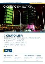 Newsletter #32 - Janeiro 2010 - msf