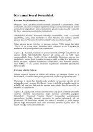 Kurumsal Yönetim İlkeleri Uyum Raporu 2012 - Arçelik