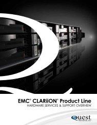 EMC® CLARiiON® Product Line - Quest International