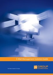 E-Mail-Management Solution Guide