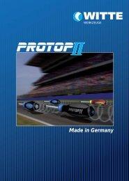 Prospekt Pro Top II (deutsch) - Kirchhoff Gruppe