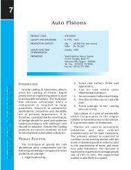 Auto Pistons - Dc Msme