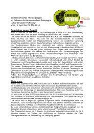 """""""Club der guten Hoffnung"""" vom 10. April bis 29. Mai 20 - Ev.-luth ..."""