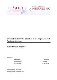 University-Industry Co-operation at the Regional Level: The Case of ...