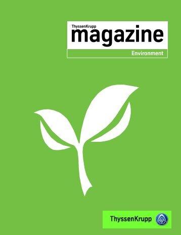 Thyssenkrupp magazine