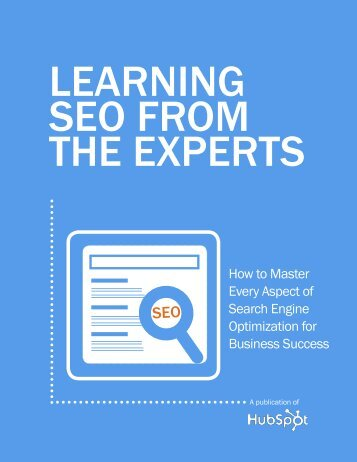 Learning SEO from the Experts - Earth & Sea Consulting