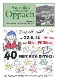 Juni - Oppach