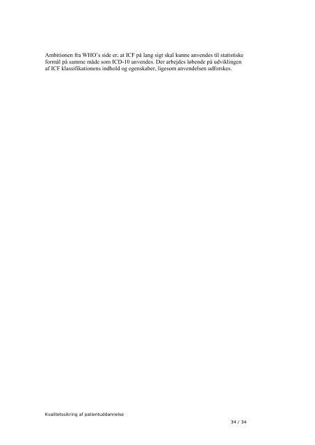Kvalitetssikring af patientuddannelse, 2012 - Sundhedsstyrelsen