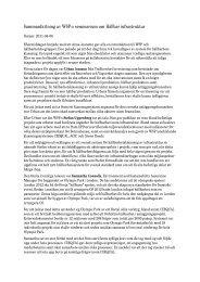 Sammanfattning av WSP:s seminarium om HÃ¥llbar ... - WSP Group