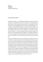 wdr resonanzräume - Hans-Joachim Lenger