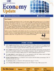 Economy Update 2-8 April 2012 - CII