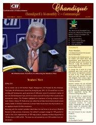 Chandiqué - July 2011 - CII