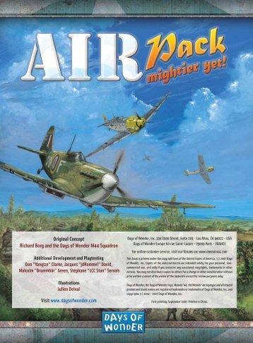 Air Pack - Days of Wonder