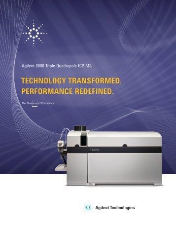 Agilent 8800 Triple Quadrupole ICP-MS - Agilent Technologies