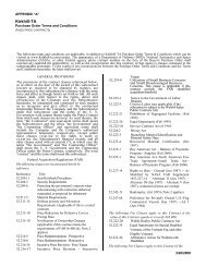 Kirkhill-TA Purchase Order Terms & Conditions Appendix A - Esterline