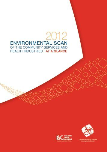 environmental scan - Community Services & Health Industry Skills ...