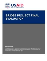 Bridge Project Final Evaluation - GH Tech