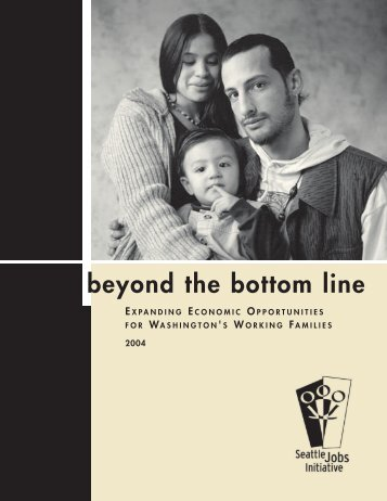 beyond the bottom line EXPANDING ECONOMIC OPPORTUNITIES