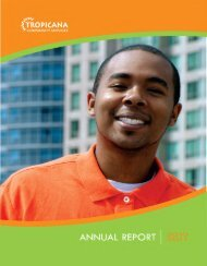 Annual Report - Tropicana Community Services