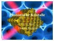 Photonische Kristalle