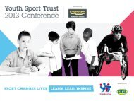 SLP-16 Competition for learning in PE - Youth Sport Trust