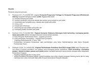 FAQ POLITIK PENJAWAT AWAM - Jabatan Pengajian Politeknik