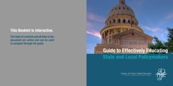 Preface - Society for Public Health Education