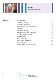 Anw: uitkering bij overlijden (pdf, 665 Kb) - Svb