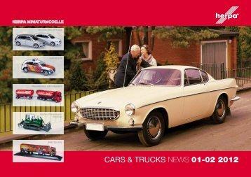 CARS & TRUCKS NEWS 01-02 2012 - Herpa