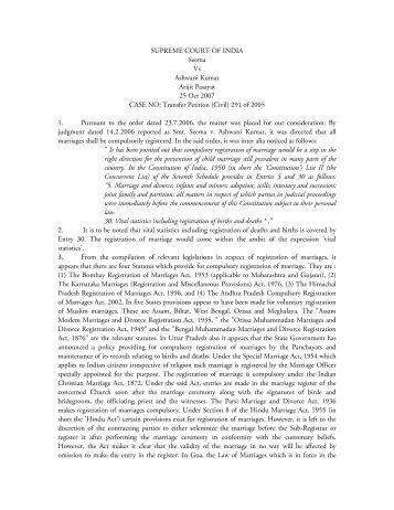 THE HINDU MARRIAGE ACT, 1955 - IPC 498A