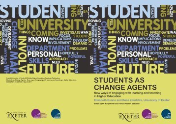 Students as Change Agents booklet - ESCalate