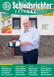 Die Schiedsrichter-Zeitung 6/2011 - DFB