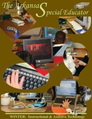 The Arkansa - ADE Special Education