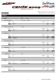 Ceník LeoVince 2009_ - HD Com