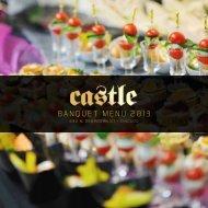 banquet menu 2013 - Castle Chicago Nightclub
