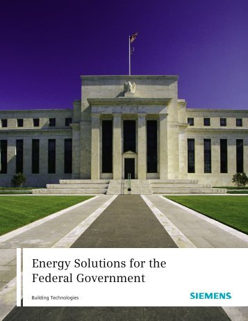 Energy Solutions for the Federal Government - Siemens