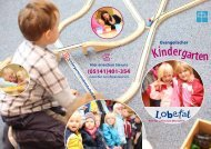 Kindergarten - Lobetalarbeit in Celle