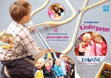 Kindergarten - Lobetalarbeit in Celle
