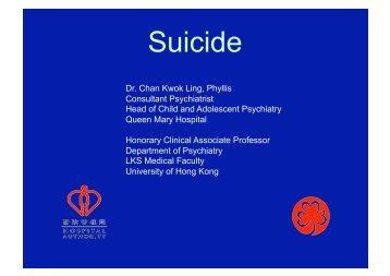 Suicide - Cedars