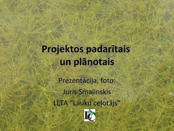 """""""Lauku ceļotājs"""" prezentācija par produktiem uz dabas resursu bāzes"""