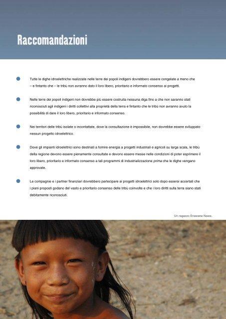 Il ritorno delle grandi dighe - Survival International