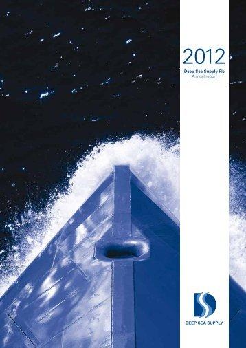 Annual Report 2012 - Deep sea supply