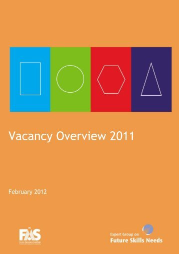 Vacancy Overview 2011 - FÁS