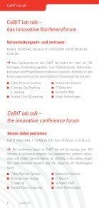 CeBIT lab talks 2011 - Steamtalks - Seite 6