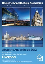 Liverpool - The Obstetric Anaesthetists' Association