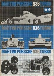 Tamiya Martini Porsche 936T Manual - Wheelsacademy.info