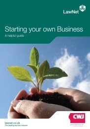 Starting your own Business - Clarkson, Wright and Jakes