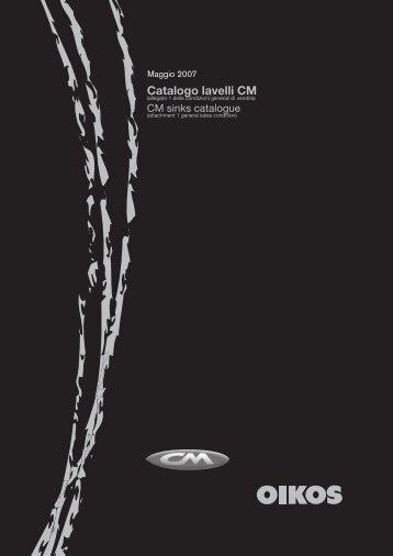Catalogo lavelli CM - Formul.ru
