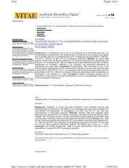 Artículos Página 1 de 6 Vitae 25/06/2013 http://vitae.ucv.ve ...